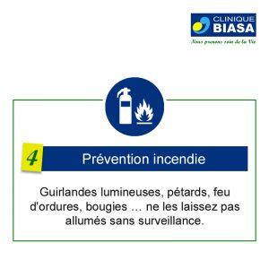 CLINIQUE BIASA – Prévention incendie