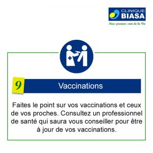 CLINIQUE BIASA – Vaccinations