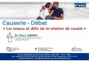 Causerie – Débat « les enjeux et défis de la relation de couple »
