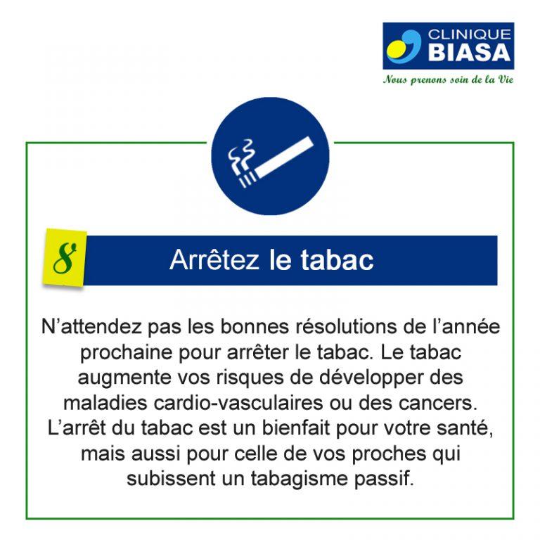 CLINIQUE BIASA – Arrêtez le tabac